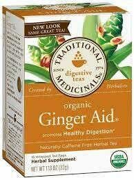 Traditional Medicinal Ginger Aid