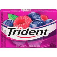 Trident Very Berry 12 pck