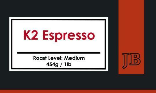 Java Blend K2 Espresso