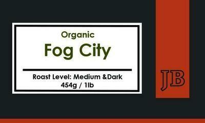 Java Blend Organic Fog City