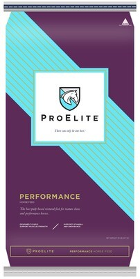 Proelite Performance textured horse feed 50 lb.