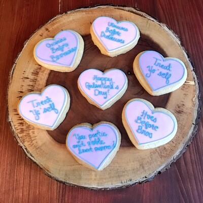 Galentines cookie