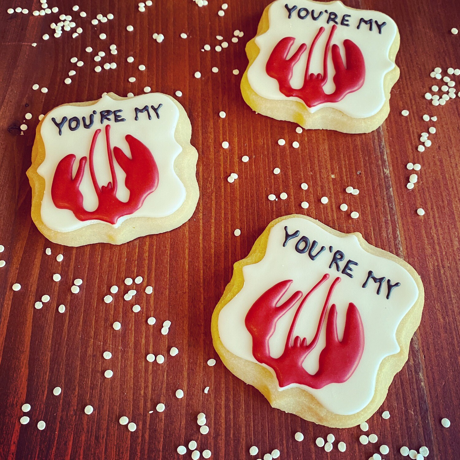 You're my Lobster Cookie