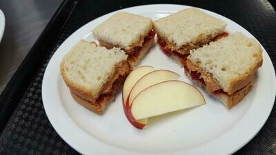 PB and J Sandwich for here