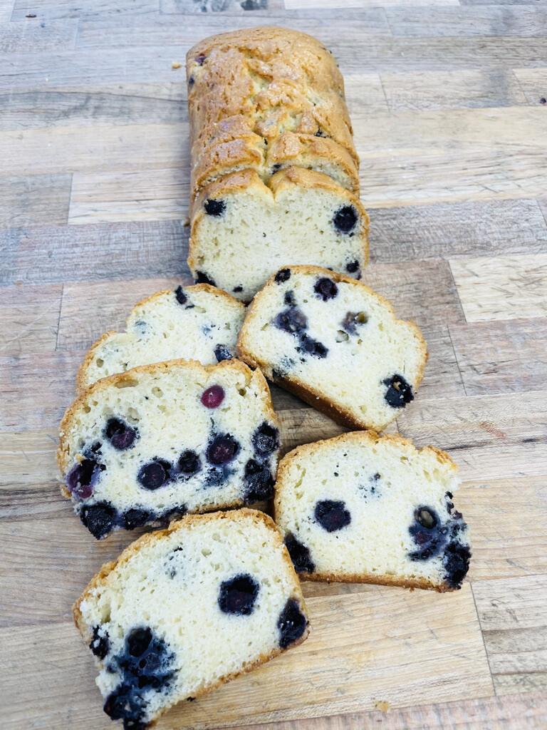 Quick Breads: Lemon Blueberry
