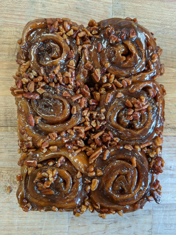 Sweet Rolls: Mini-Caramel Nut Rolls