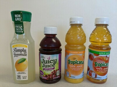 All Juice - bottles
