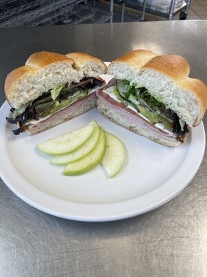 Torta Mexicana w ham FOR HERE