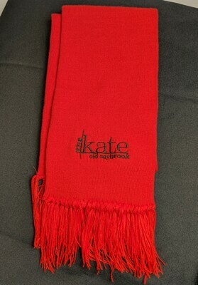 Red Scarf/Black Kate Logo
