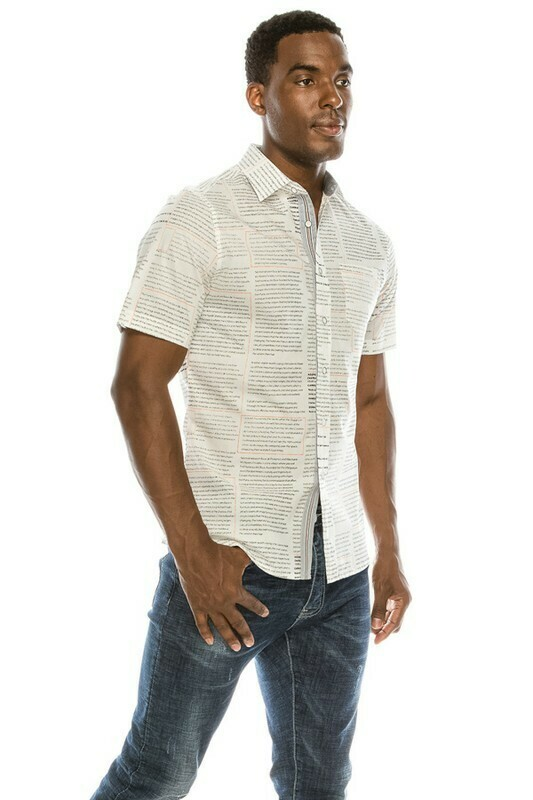 Newsy Short sleeve Button up