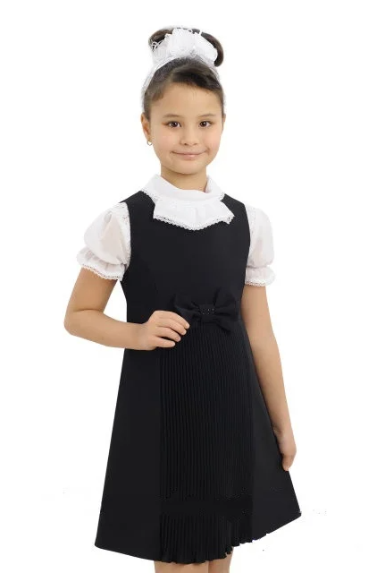 Сарафан школьный Афина черный