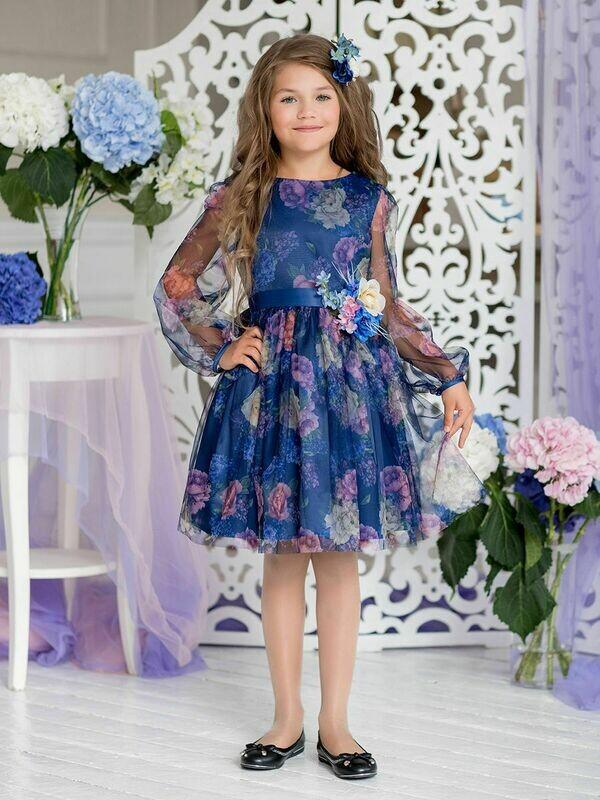 Платье нарядное Сирения для девочки
