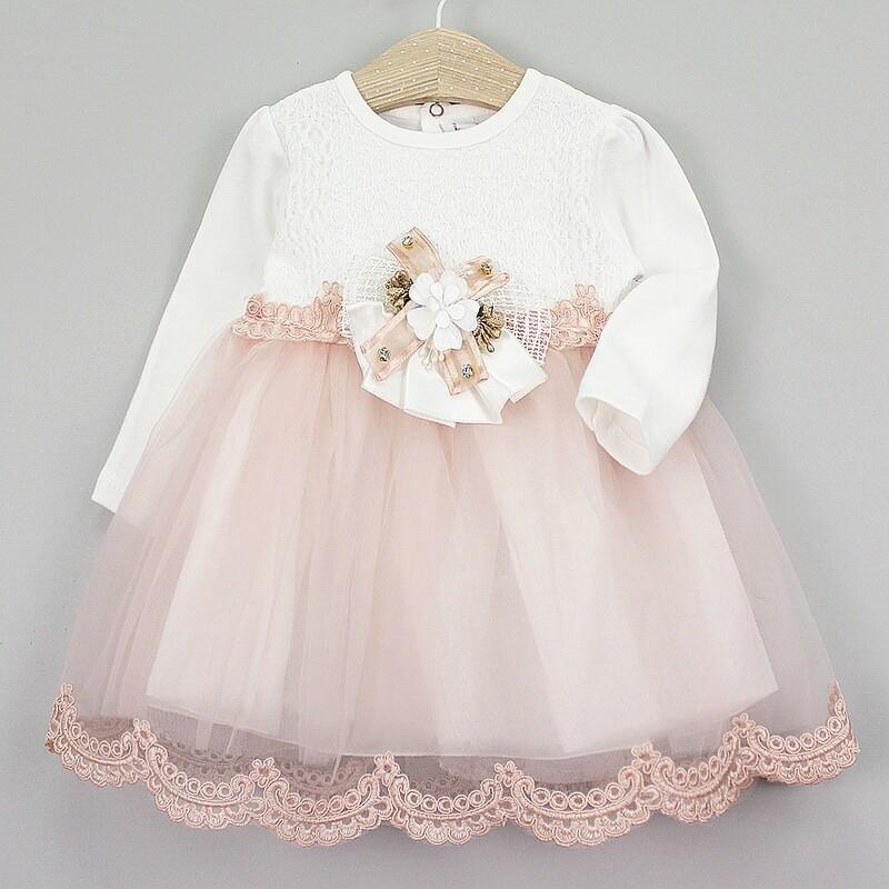 Платье нарядное для девочки 6-18 мес