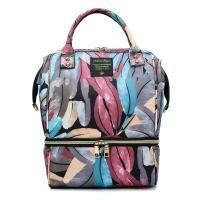 Feather Diaper Bag Multi Color