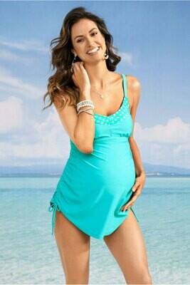 Turquoise Tank Top w/Bikini Bottoms