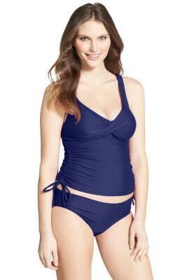 Navy Blue Tankini Swimsuit