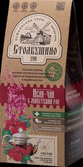 Иван-чай с лепестками роз