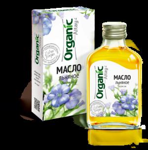 "Льняное масло ""Organic Altay"""