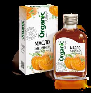 """Тыквенное масло """"Organic Altay"""""""