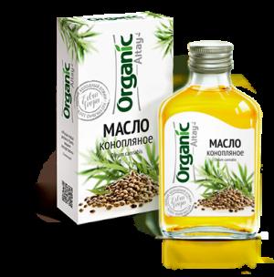 """Конопляное масло """"Organic Altay"""""""