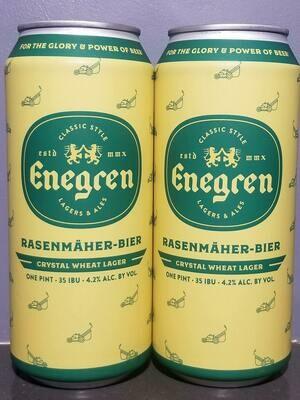 Enegren Rasenmäher Bier