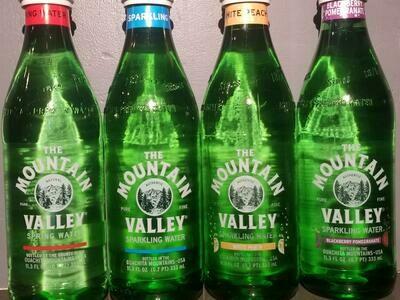 Mt Valley Sparkling Water
