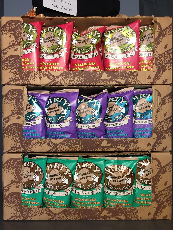 Dirty Potato Chips Jalapeño
