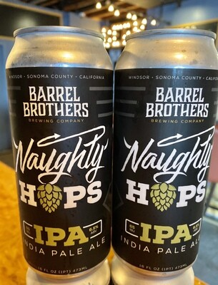 Barrel Brothers Naughty Hops