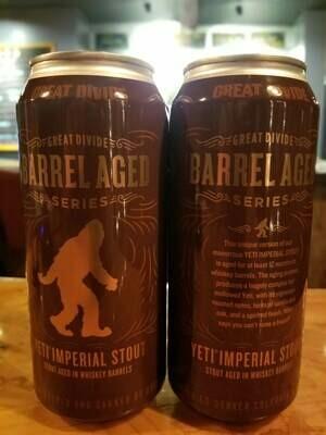 Great Divide Barrel Aged Yeti
