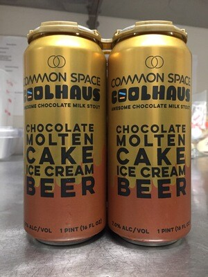 Common Space/Coolhaus Chocolate Molten Cake Ice Cream Beer