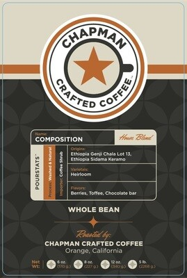 Chapman Crafted Coffee Composition (Preorder)