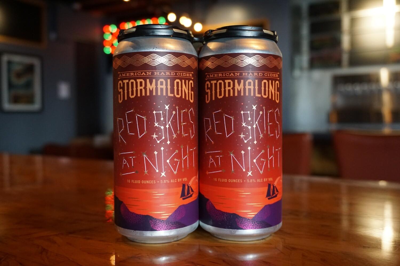 Stormalong Red Skies At Night (can)