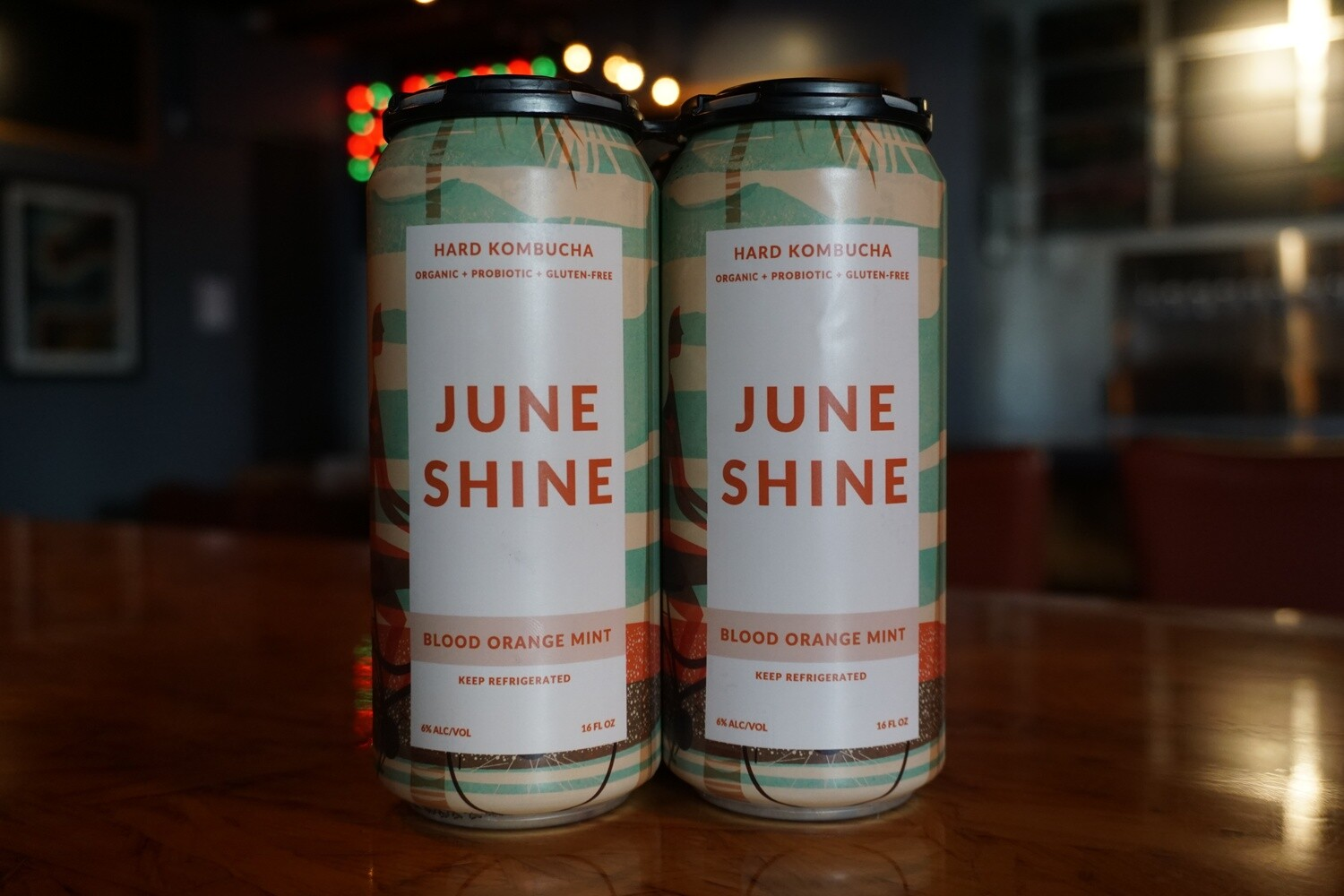 JuneShine Blood Orange Mint