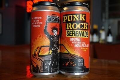 Paperback Punk Rock Serenade
