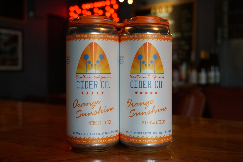 Southern California Cider Orange Sunshine