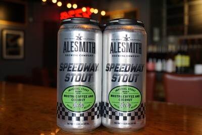 Alesmith Speedway Stout with Mostra Coffee & Coconut