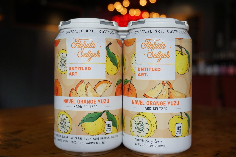 Untitled Art Florida Seltzer (Navel Orange Yuzu)