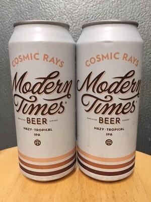 Modern Times Cosmic Rays