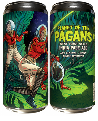 Paperback Planet of the Pagans