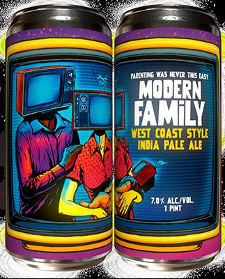 Paperback Modern Family