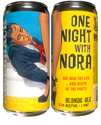 Paperback One Night With Nora
