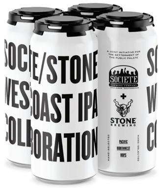 Societe/Stone West Coast IPA Collaboration