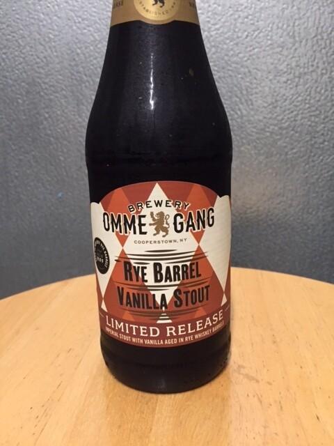 Ommegang Rye Barrel Vanilla Stout