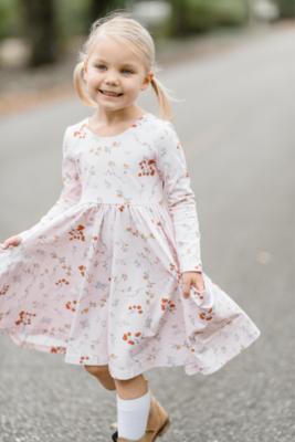 Charming Twirl Dress Winter Berries