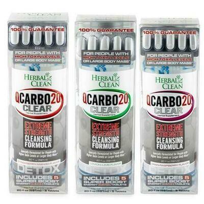 Q Carbo 20 Clear Detox