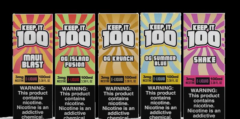 Keep it 100 100ml