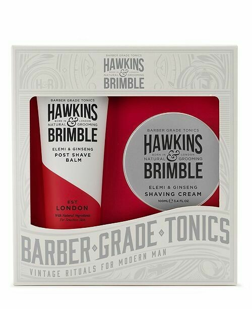 2pc Hawkins & Brimble Shaving Gift Set