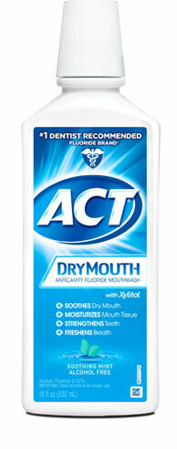 ACT TOTAL DRY MTH STH MNT 18OZ