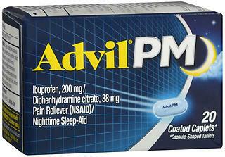 ADVIL PM CAPL               20