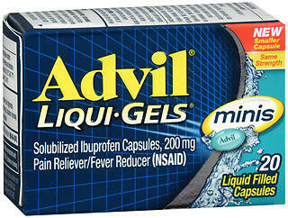 ADVIL LIQ GEL MINIS 20